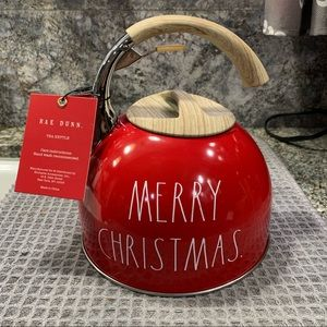 Rae Dunn MERRY CHRISTMAS Tea Kettle